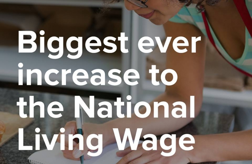 Biggest Ever Increase to national Living Wage